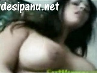 Punjabi big boobs girl riding hard MMS