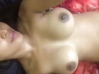 Beautiful desi girl enjoy fingering before friend fucks her