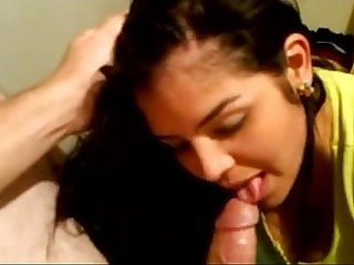 Very Hot Looking Girl Giving Blow Job