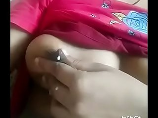 Milk Desi girl Boobs Pressing Nipple with milk