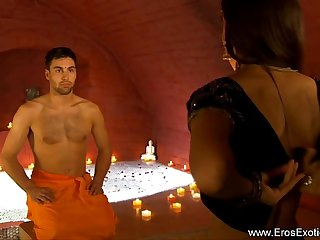 Exotic Couple Try Something New